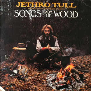 Jethro Tull ‎- Songs From The Wood (LP) (G++/G+)
